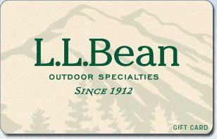Your L.L.Bean E-Gift Card