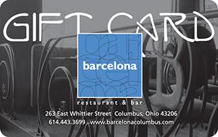 Barcelona Restaurant eGift Card