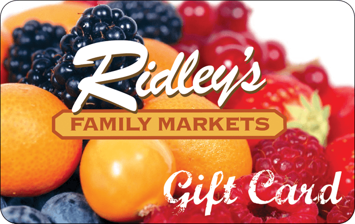 Ridley's Family Markets Gift Card