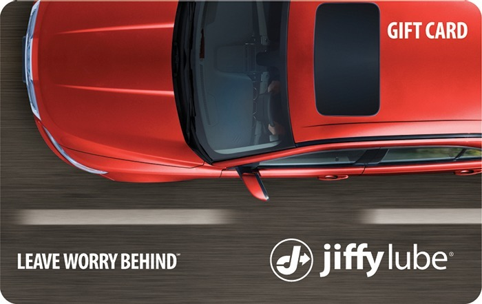 Jiffy Lube Red Car eGift