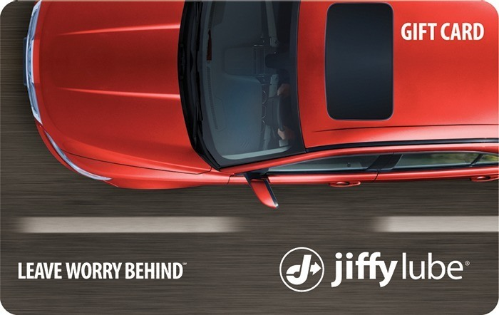 Jiffy Lube Red Car eGift Card