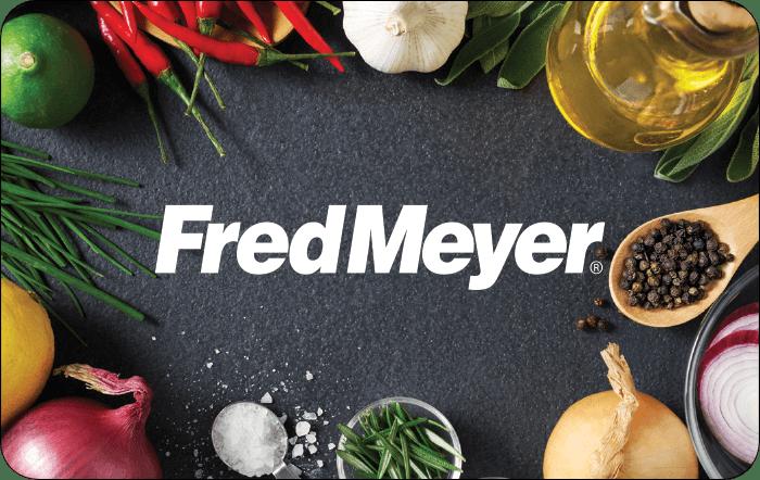 Kroger Fred Meyer Gift Card