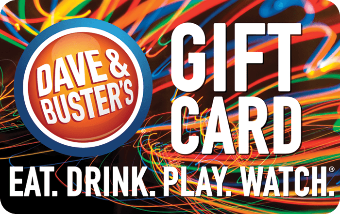 Dave & Busters eGift Card