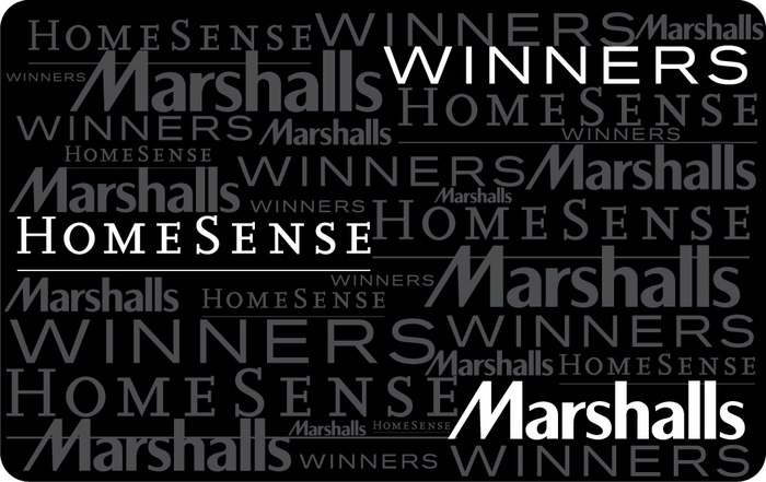 Winners, Marshalls and HomeSense eGift Card