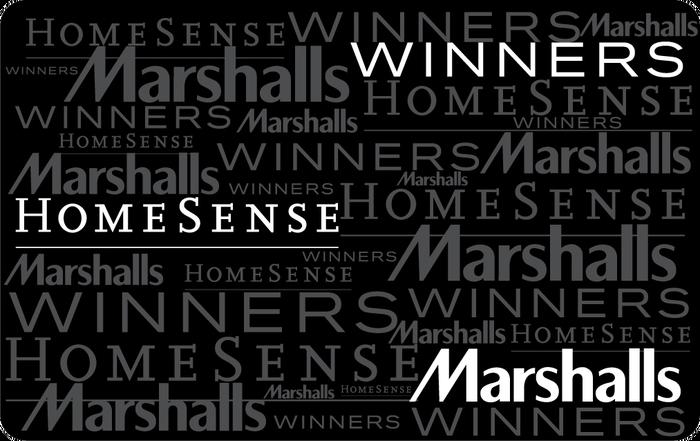 Winners, Marshalls and HomeSense eGift Card