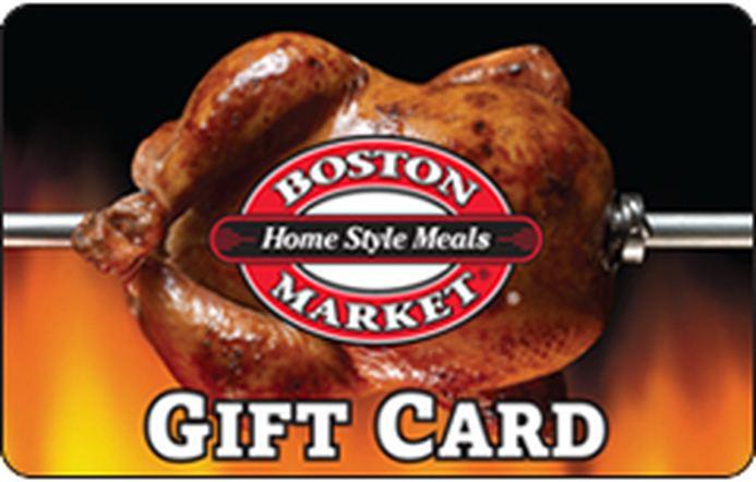 Boston Market Gift Card