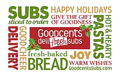 Goodcents® Deli Fresh Subs Original Gift Card