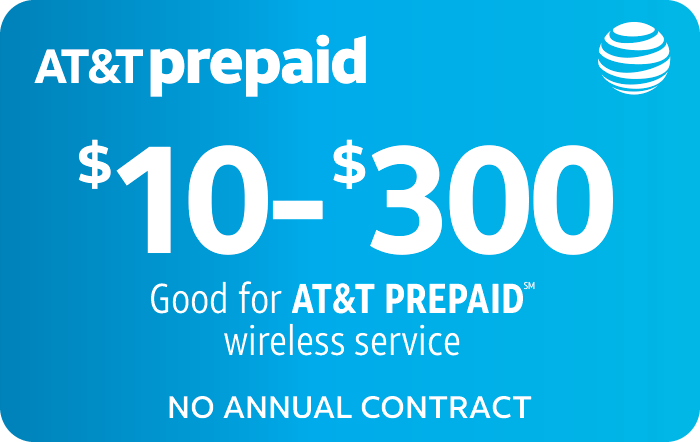 AT&T Prepaid Phone Card (e-delivery)