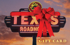 Texas Roadhouse Customizable Gift Card