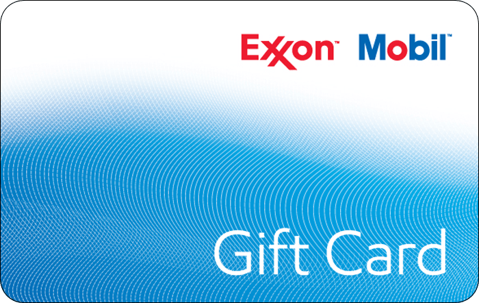 Promotion of Exxon $50 Gift Card