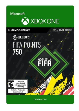 FIFA 20 ULTIMATE TEAM FIFA POINTS 750