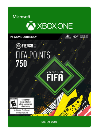 FIFA 20 ULTIMATE TEAM FIFA POINTS 750