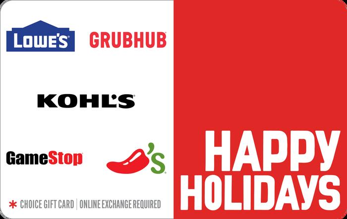 Happy Holidays eGift Card