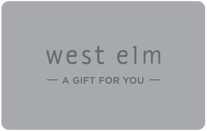 west elm eGift Card