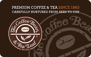 The Coffee Bean & Tea Leaf eGift Card