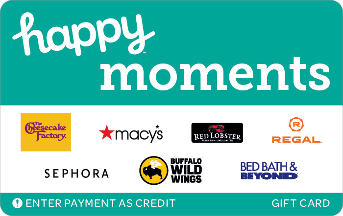 Happy Moments Gift Card