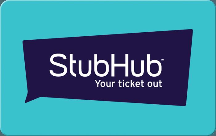 Buy stubhub gift card