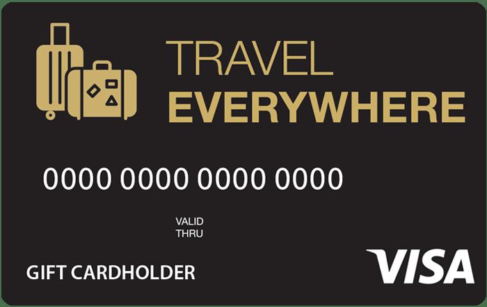 Travel Everywhere Visa Gift Card