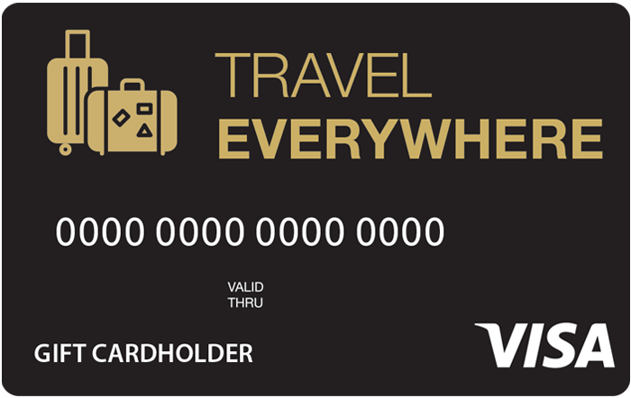 Travel Everywhere Visa Gift Card