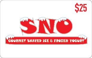 Sno $25 eGift