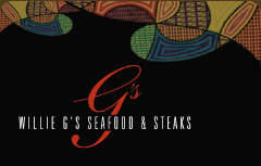 Willie G's Seafood & Steakhouse Gift Card