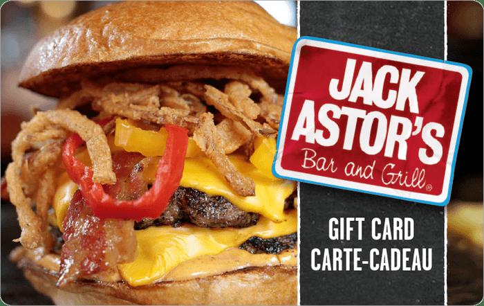 Jack Astors eGift Card