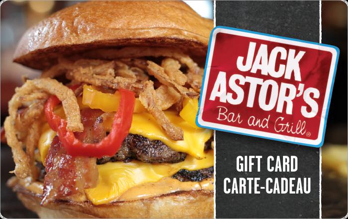 Jack Astor's eGift Card
