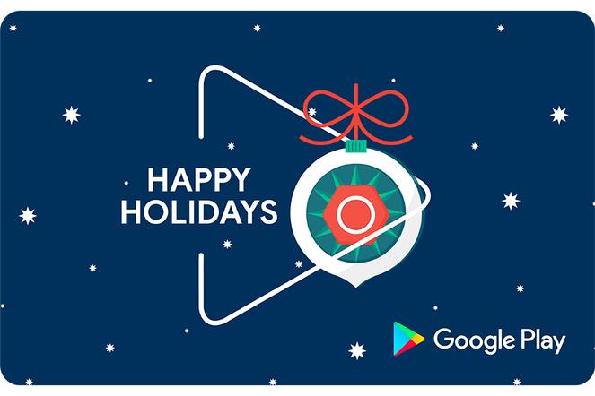 Google Holiday Ornament eGift