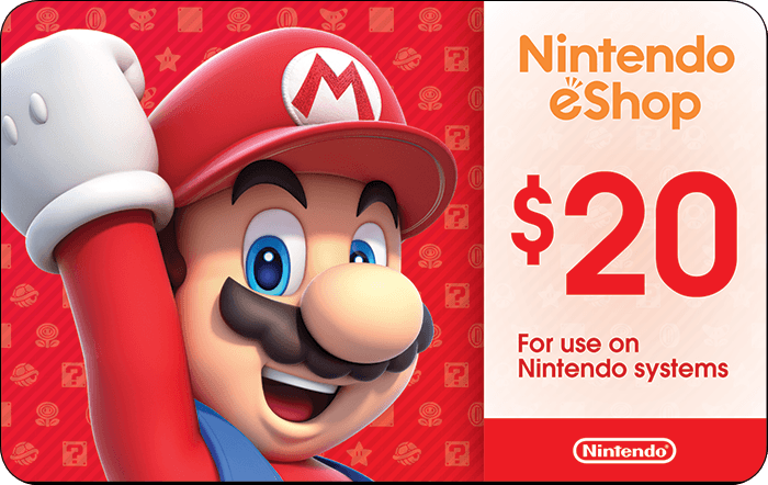 Nintendo eShop eGift Card