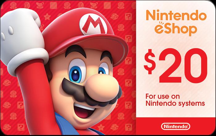 Nintendo $20 eGift