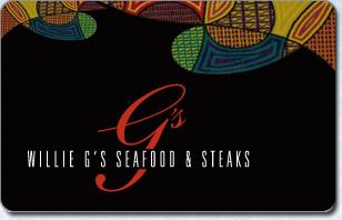 Willie G's Seafood & Steakhouse eGift