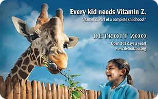 Detroit Zoo eGift