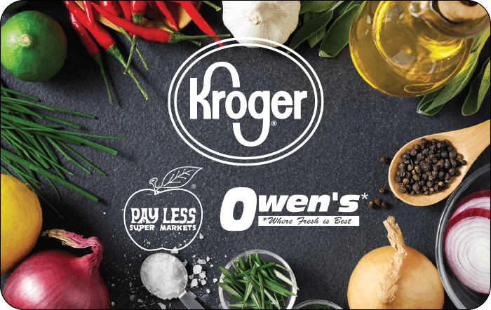 Kroger Ownes Payless Gift Card