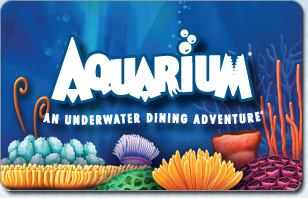 Aquarium Restaurant eGift Cards