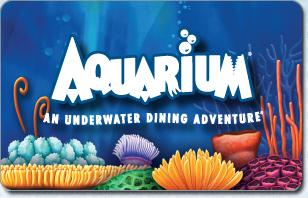 Aquarium Restaurant eGift Cards