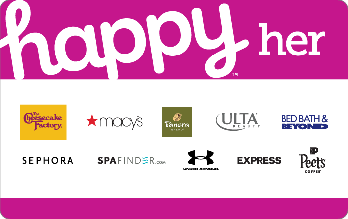 Promotion of Happy Her Gift Card