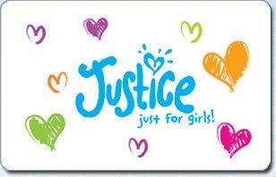 Justice eGift Cards