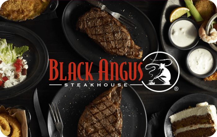 Black Angus Steakhouse Gift Card