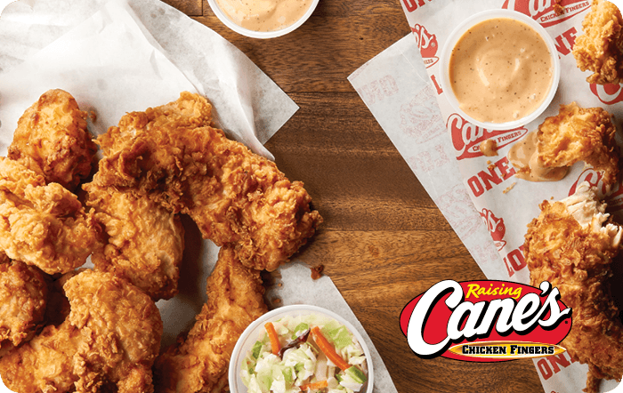 Raising Canes Gift Card