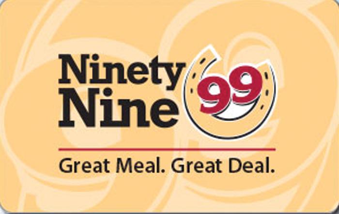 Ninety Nine Restaurant eGift
