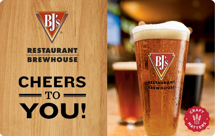 BJ's Restaurant & Brewhouse eGift Card