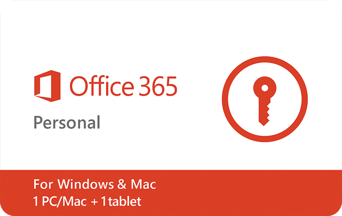 MS Office Personal $69.99 eGift