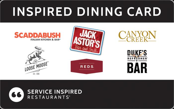 Inspired Dining eGift Cards