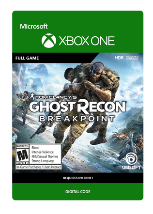 XBOX Ghost Recon Breakpoint SE$59.99