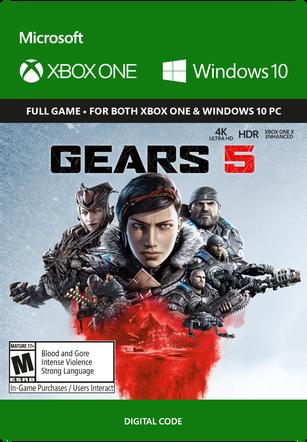 GEARS 5 STANDARD EDITION $59.99