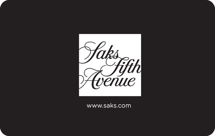 Sak's 5th Avenue Gift Card