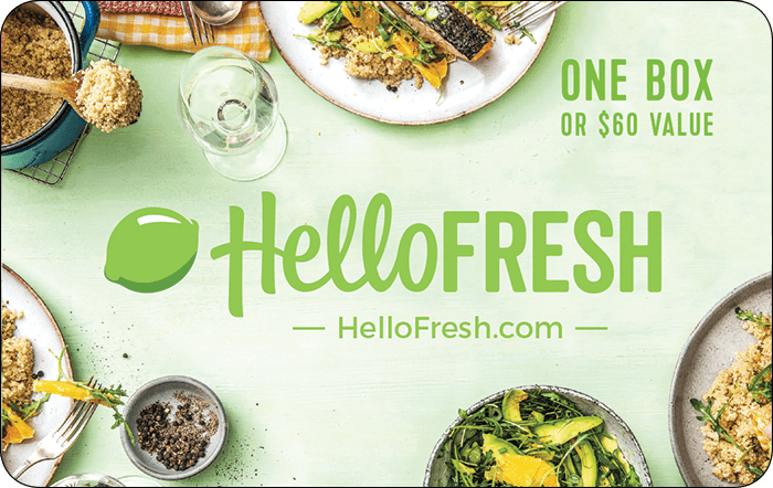HelloFresh $60 Gift Card