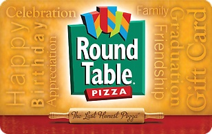 Round Table Pizza eGift Card