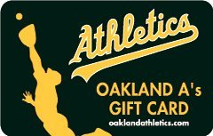 Oakland As Gift Card