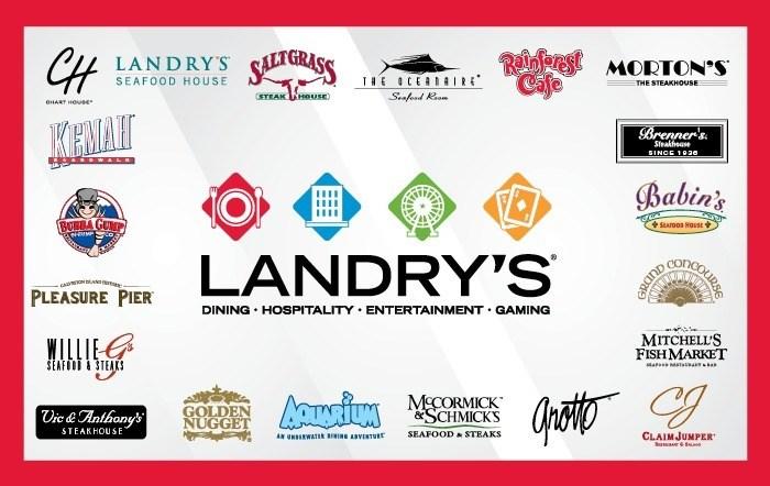 Landrys Multibranded Gift Card